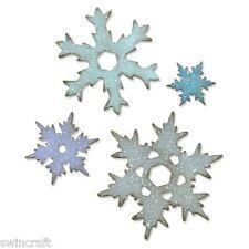 Sizzix Bigz L Die-Stacked snowflaes 660052 Big Shot/Corte n Jefe