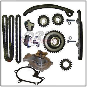 Details about Timing Chain Kit Fits Nissan Altima 2 4L 2389cc KA24DE  9-4180SA W/ Water Pump