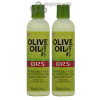 Ors Olive Oil Moisturizing Hair Lotion 8.5 Oz pack Of 2 W/free Nail File
