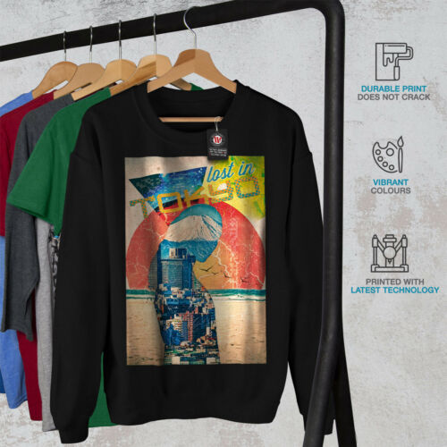 Lost Urban Japan Tokyo Men Sweatshirt NEWWellcoda