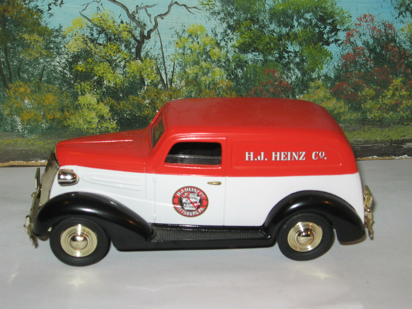 LIBERTY CLASSICS LIMITED EDITION 1 25 1937 CHEVY SEDAN DELIVERY HEINZ