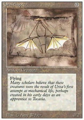 4x Ornithopter Moderate Play English 3rd Edition Revised MTG Magic