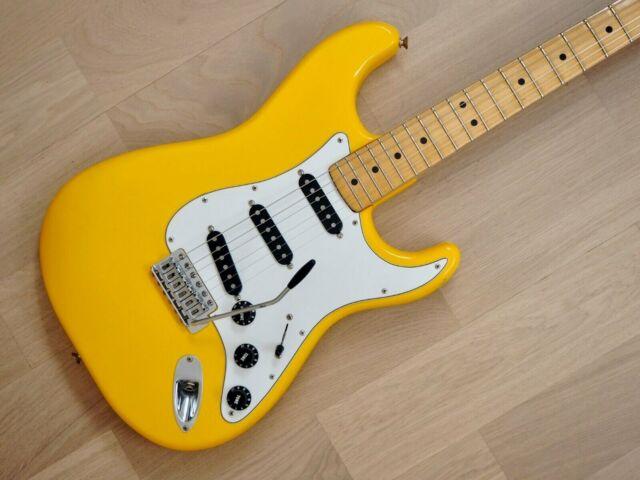 1981 Fender Stratocaster International Series Monaco Yellow w/ Lollar Pickups