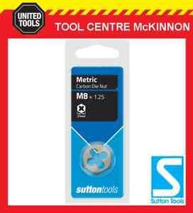"""Sutton M445 3175 1-1//4/"""" X 7 UNC Hexagonal Sutton Die Nut"""