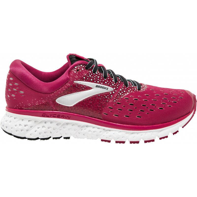 Brooks Glicerina 16 para Mujer Damas neutral Amortiguación Running Gimnasio Zapatillas Zapatos 7