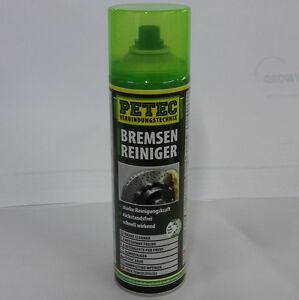 PETEC 70060 Bremsen//Kupplungs-Reiniger