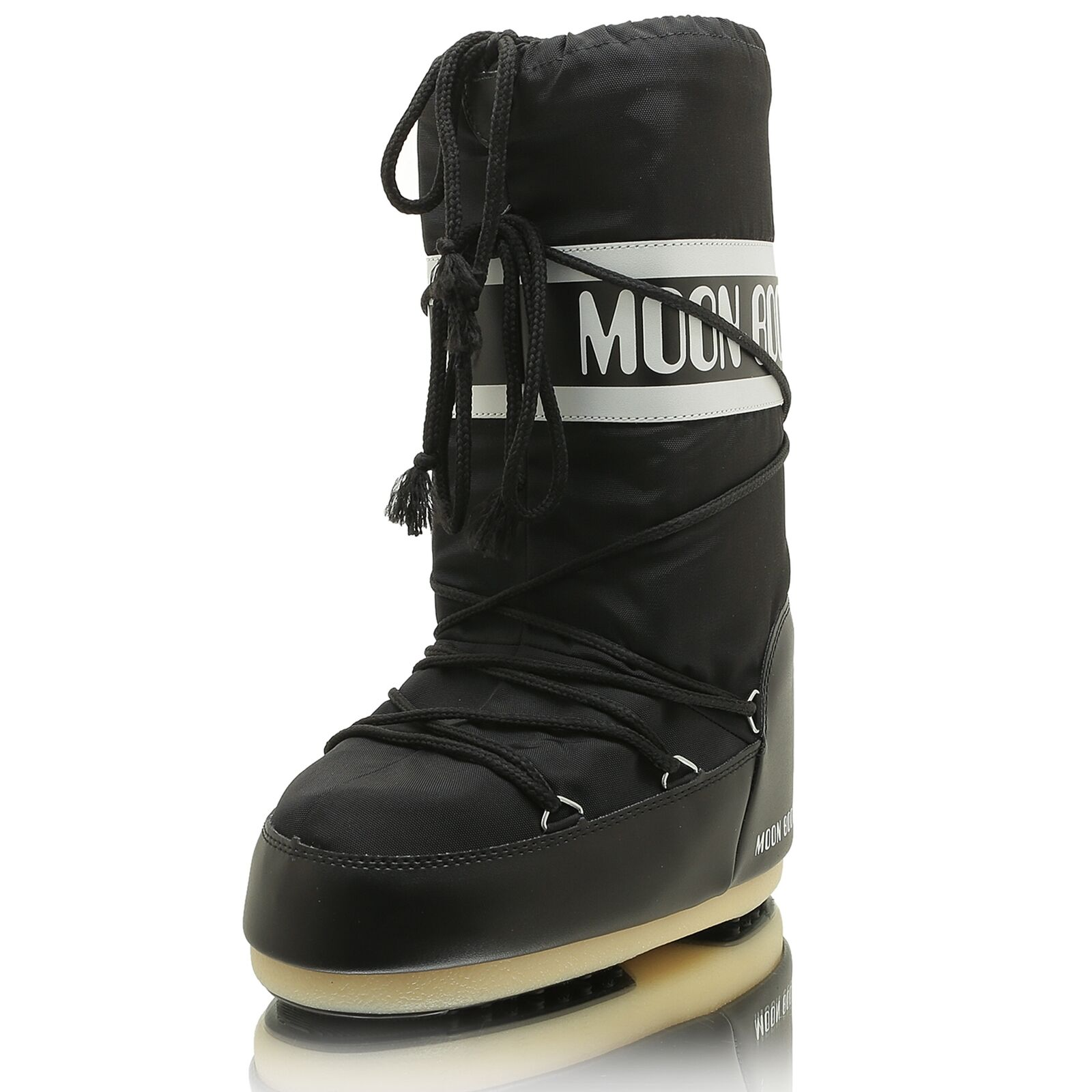 MOON BOOT Nero Moon Boot Nylon Nero BOOT 1bf6e5