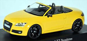 Audi TT Roadster Typ: 8J 2007-10 gelb yellow imola gelb 1:43 Schuco