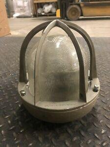 Details About Vtg Crouse Hinds Light 10 Explosion Proof 2367 E Ev530 Gl Globe