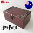 SANKYO Rectangle Solid Wood Wind Up Music Box Jewelry Box : Harry Potter Theme