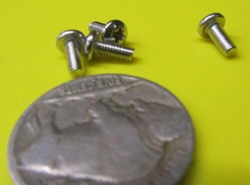 "18-8 Stainless Steel Pan Head Phillips Machine Screw 3-56 x 1//4/"" 200 pcs"