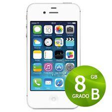 APPLE IPHONE 4S 8GB BIANCO + ACCESSORI + GARANZIA 12 MESI - RICONDIZIONATO 4 S
