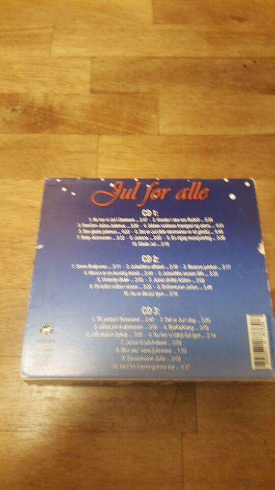 Various / Diverse: 3CD : Jul For Alle, andet