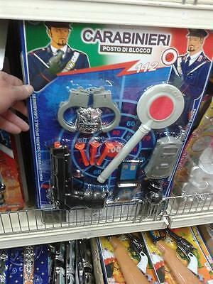 1 pistola manette polizia carabinieri kit gioco di qualità giocattolo toy   eBay