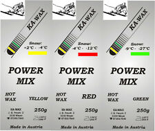 POWER MIX, Skiwax Trainingswax, Wax, Schiwachs, 750g