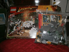 LEGO INDIANA JONES  KINGDOM OF THE CRYSTAL SCULL # 7626