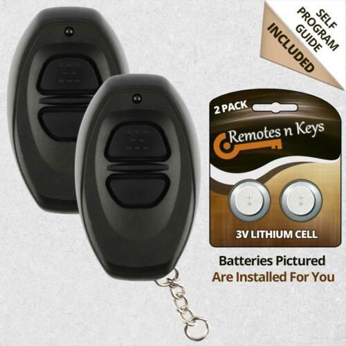 2x Car Transmitter Remote for 1990 1991 1992 1993 1994 1995 1996 Toyota 4Runner