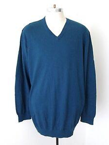 Old Navy Men/'s Blue /& White Geometric Crew Neck Sweater Sizes L 2XL