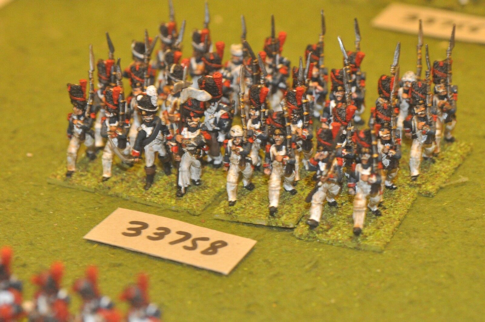 25mm napoleonic   french - old guard 32 figures - inf (33758)