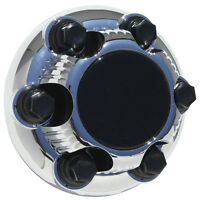 1 Piece Gmc 6 Lug Chrome Center Caps 15 & 16 Steel Wheel Rims Bolt On Hub Skin on Sale
