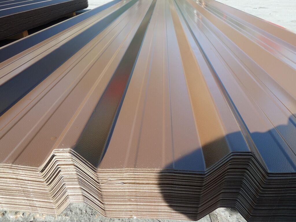 Van Dyke Brown Box Profile Roofing Sheets Metal Steel Roof