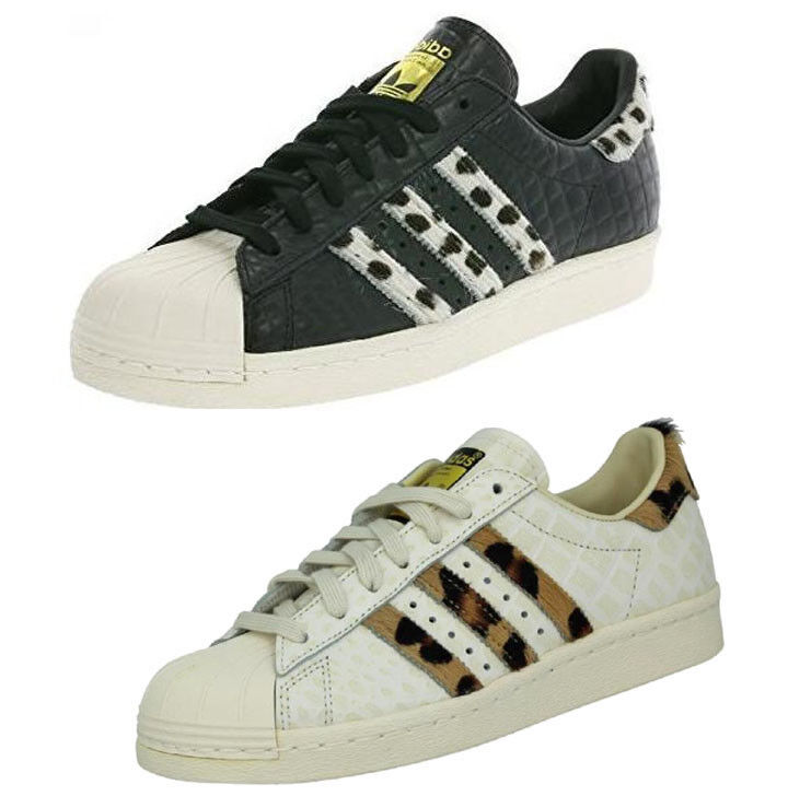 adidas Superstar Sneakers 80s Animal Pony Effect Vintage Sneakers Superstar Limited Edition Zapatos 932579