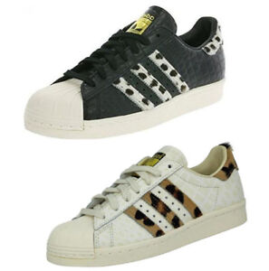 Adidas Superstar 80s animal fringe effect Vintage Sneakers Trainers