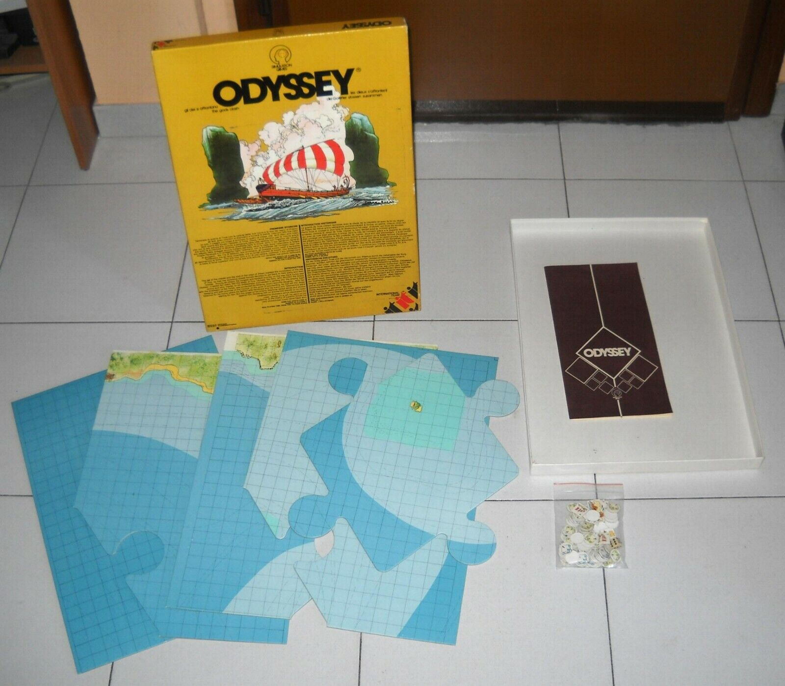 ODYSSEY - International Team 1979 OTTIMO Grecia wargame