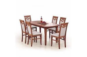 Esstisch Ausziehbar Holztisch Klassik 240 Cm Tisch Kirschbaum Funktionstisch Ebay
