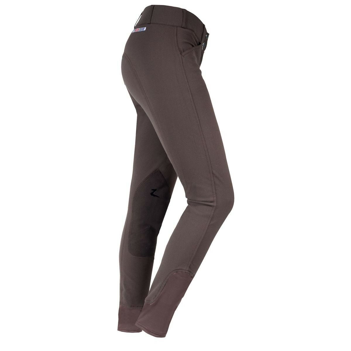 Ladies English Hunt Seat GRAND PRIX Breeches 36 Long Steel Gris Clearance!!