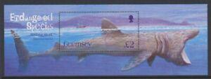 Guernesey-2005-Pelerin-Shark-Feuille-MNH-Sg-MS1085
