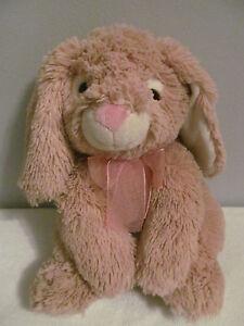 Soft Plush Stuffed Animal Soft Toy Light Brown Floppy Ear Bunny