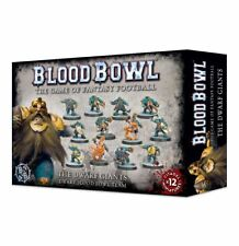 Games Workshop Warhammer 40k Blood Bowl The Dwarf Giants Team