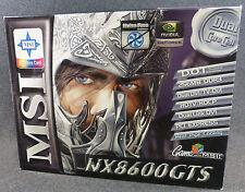 MSI Nvidia GeForce 8600 GTS 512MB GDDR3 SDRAM PCI Express x16 Video Card