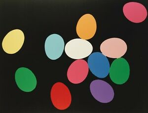 ANDY WARHOL - Eggs, 1982 - FINE ART PRINT POSTER * OUT OF PRINT * LAST ONE *