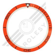 Planet Ocean Orange Bezel Insert for Omega Planet Ocean Big Size(XL) 45.5mm Case