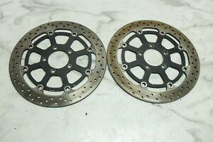 03 Suzuki TL 1000 TL1000 R front brake rotors disks