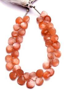 Peach Moonstone Fancy  Briolettes Peach Moonstone Fancy Shape Beads GM 8