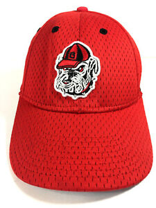 Nike Dri Fit Georgia Bulldogs Legacy 91 Fitted Ballcap Hat Red ... 334c84abccc
