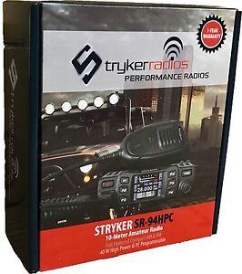 Stryker-SR-94HPC-Compact-45-Watt-10-Meter-Radio-NEW