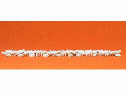 Preiser 79252 Schafherde Schafe 60 Figuren Schaf Schäferei N Neu