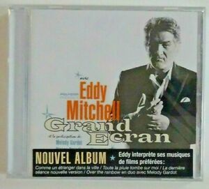 EDDY-MITCHELL-GRAND-ECRAN-sticker-original-CD-NEUF-OPENDISC