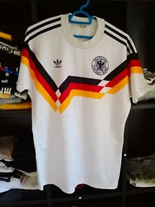 Details about WEST GERMANY WORLD CUP 1990 ADIDAS HOME VINTAGE FOOTBALL TRIKOT JERSEY SHIRT VTG