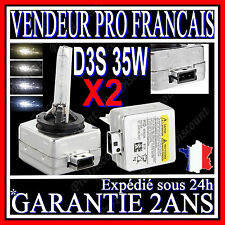 2 AMPOULES D3S 35W 12V LAMPES DE RECHANGE REMPLACEMENT FEU XENON KIT HID 5000K