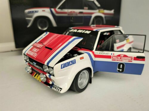 1:18 Kyosho Fiat 131 Abarth Andruet Rallye San Remo 1977 NEU NEW