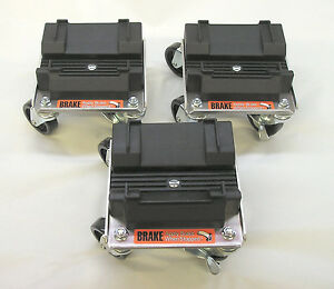 Rol-A-Blade Snow Plow Casters Dollie Set to Move Your Plow Snow Mobiles