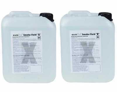 "Kompetent 10 Liter -x Eurolite ""x"" Smoke Flluid Nebelfluid Extrem A2 Angemessener Preis 4,80€/l"