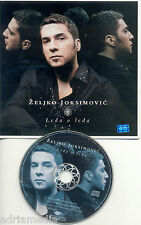 ZELJKO JOKSIMOVIC Maxi CD Ledja o ledja Eurosong Eurovision Serbien Srbija Hit