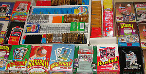Huge-Lot-of-300-Old-Vintage-Baseball-Cards-in-Unopened-Wax-Packs