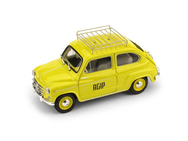 Fiat 600D 600D 600D 1960 Agip 1 43 Model BRUMM 74c016